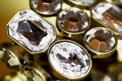 Brazalete del diamante Fotos de archivo libres de regalías