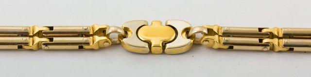 Brazalete del oro Fotografía de archivo