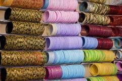Brazaletes del color Foto de archivo libre de regalías