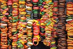 Brazaletes indios que muestran la cultura india imágenes de archivo libres de regalías