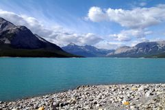 Brazeau River. With a dam downstream in the rocky mountains of Alberta, Canada Royalty Free Stock Photography