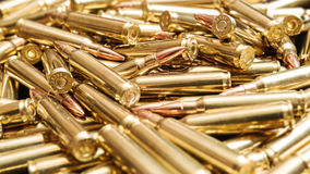 Brazen ammunition Royalty Free Stock Image