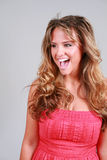 Brazen Beauty Stock Image