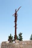 Brazen Serpent of Moses. Mount Nebo Royalty Free Stock Image