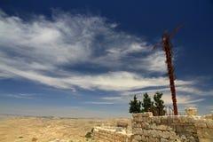 The Brazen Serpent. Mount Nebo, Holy Land, Jordan Stock Photography