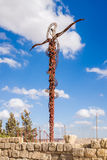 The Brazen Serpent at Mount Nebo Royalty Free Stock Photo