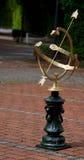 Brazen sundial Royalty Free Stock Photo