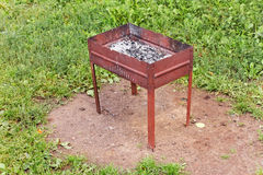 Brazier after cooking Royalty Free Stock Photos