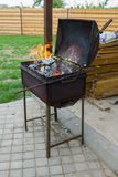 Brazier with a cover Royalty Free Stock Photo
