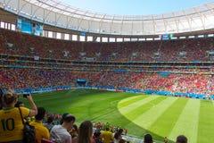 brazilstadium FIFA puchar ?wiata BRAZYLIA 2014 Zdjęcie Royalty Free
