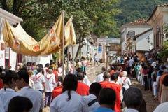 brazil östliga processiontiradentes royaltyfri bild