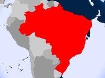 brazil översikt Royaltyfri Bild