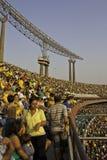 Brazil 1x0 South Africa - São Paulo - Brazil Stock Image