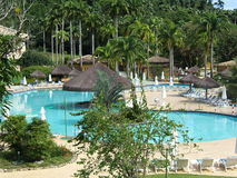 Brazil: Angra dos Reis. Resort pool in Angra dos Reis, Brazil stock photography