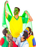Brazil as champion Royalty Free Stock Photos