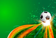 Brazil Background With Ball Stock Photos