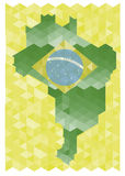 Brazil 2014 background. Background Soccer   Football   Tournament brasil 2014 Royalty Free Stock Photo