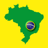 Brazil. Background for your presentations Stock Photography