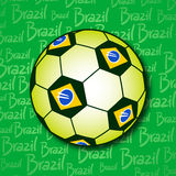 Brazil ball Stock Image