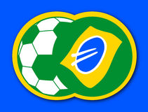 Brazil ball Royalty Free Stock Photography