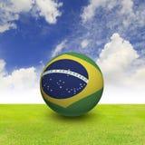 Brazil Ball Royalty Free Stock Photography