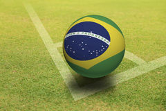 Brazil Ball Royalty Free Stock Photos