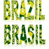 Brazil balls Royalty Free Stock Photos