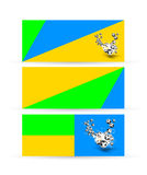 Brazil banner 2014 layout Royalty Free Stock Image