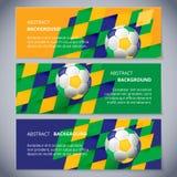 Brazil banners Stock Photo