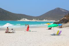 Brazil beach Royalty Free Stock Photo