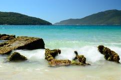 Brazil Beach. Beach located at Arraial do Cabo city, Rio de Janeiro Estate, Brazil Royalty Free Stock Photography