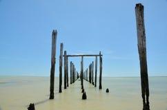Brazil Beach. Beach located at Cumuruxatiba city, Bahia Estate, Brazil Stock Photo