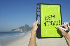 Brazil Bem-Vindo Welcome Message Rio Royalty Free Stock Photos