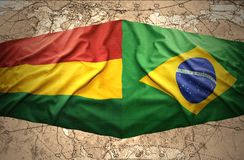 Brazil and Bolivia Stock Photography