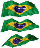 Brazil (Brasil) Flag Stock Photos