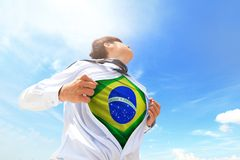 Brazil Business man Stock Photo