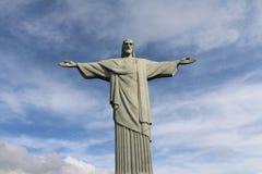 brazil christ de janeiro redeemer rio Royaltyfri Bild