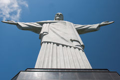 brazil christ de janeiro redeemerrio staty Royaltyfri Bild