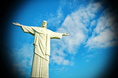 Brazil. Christ Redeemer statue Royalty Free Stock Photo