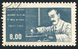 Alvaro Alvim printed by Brazil Royalty Free Stock Photos