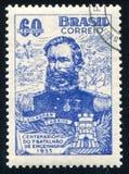 Vilagran Cabrita printed by Brazil. BRAZIL - CIRCA 1955: stamp printed by Brazil, shows  Vilagran Cabrita, circa 1955 Royalty Free Stock Photo