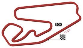 Brazil circuit Stock Photo