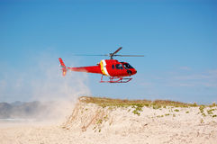 Brazil Coast Guard helicopter Royalty Free Stock Image