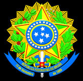 Brazil Coat of Arms Royalty Free Stock Images