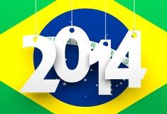Brazil 2014 Stock Photography