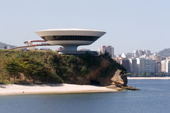 Brazil,Contemporary Art Museum Royalty Free Stock Photos