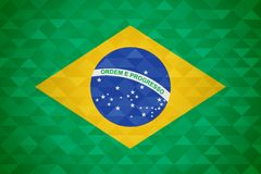 Brazil country flag of brazilian nation vector illustration