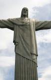 brazil cristo Arkivfoton