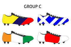 Brazil Cup Cleats Group C Royalty Free Stock Images