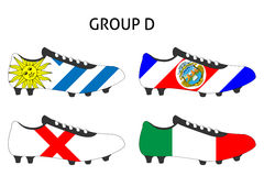 Brazil Cup Cleats Group D Stock Images